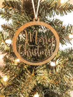 Excited to share this item from my shop: Merry Christmas Ornament - Christmas Ornament - Laser Cut Christmas Ornament Wedding Date Sign, Wedding Signs, Wedding Day, Wedding Decorations, Christmas Decorations, Christmas Ornaments, Holiday Decor, Crafty Hobbies, Good Dates