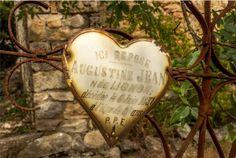 In Loving Memory... in the cemetery at L'Eglise du Trou