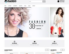 "Check out new work on my @Behance portfolio: ""Macedo - eCommerce Fashion Template"" http://be.net/gallery/41777157/Macedo-eCommerce-Fashion-Template"