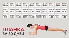программа приседаний планка пресс скакалка обруч: 7 тыс изображений найдено в Яндекс.Картинках