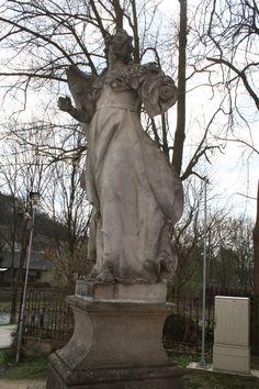 Aardsengel Rafael in Náměšť nad Oslavou Renaissance, Garden Sculpture, Greek, Statue, Outdoor Decor, Home Decor, Art, Homemade Home Decor, Craft Art