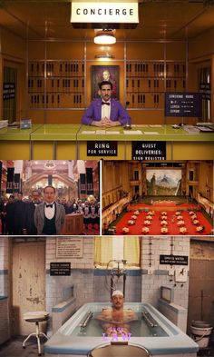 Grand Budapest Wes Anderson Interiors we wish were real #dotandbo