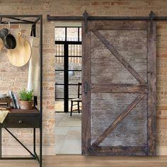 Barnwood Doors, Old Barn Doors, Diy Sliding Barn Door, Rustic Doors, Sliding Doors, Diy Barn Door Plans, Old Wood Doors, Entry Doors, Barn Tin Wall