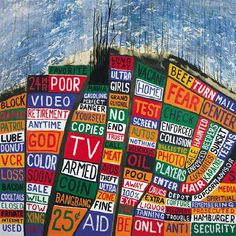 What do you listen to when there's no new Radiohead album? A classic Radiohead album. 'Hail To The Thief' Is 10 - Revisiting Radiohead's Underrated Masterpiece The Velvet Underground, Pink Floyd, Music Album Covers, Music Albums, Kings Of Leon, Owl City, Dark Side, Hail To The Thief, Radiohead Albums