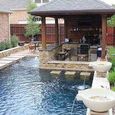 25  Fabulous Small Backyard Designs with Swimming Pool: