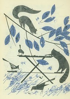 Betty Crocker's Dinner for Two Cook Book illustrated by Charley Harper. Via Doe-C-Doe