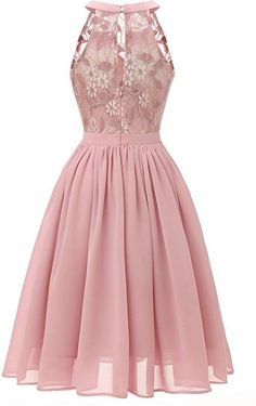 Pink Floral Lace Swing Dress – Retro Stage - Chic Vintage Dresses and Accessories Sweet 16 Dresses, Party Dresses For Women, Pretty Dresses, Beautiful Dresses, Pink Party Dresses, Dress Party, Homecoming Dresses, Bridesmaid Dresses, Vestidos Vintage