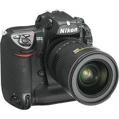 Amazon.com: Nikon D2X DSLR 12.4 MP Camera: Camera & Photo work camera