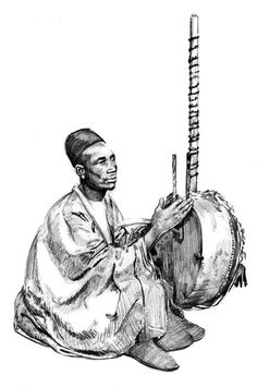 Mali was not very well know for their written literature, but instead, their history and story's were passed through griots (singing story tellers).