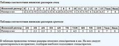 Перевод обозначений в схемах вязания на спицах в японских журналах - Страна Мам