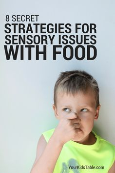 Why do children have sensory food aversions? And, how can you help them overcome sensory issues with food? Get the answers and 8 simple strategies. Tap the link to check out fidgets and sensory toys! Oral Motor Activities, Sensory Activities, Sensory Play, Autism Sensory, Toddler Activities, Sensory Therapy, Food Therapy, Feeding Therapy Activities, Therapy Tools