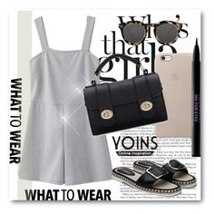 """Yoins !!"" by dianagrigoryan ❤ liked on Polyvore featuring Urban Decay, Illesteva, yoins, yoinscollection and loveyoins"