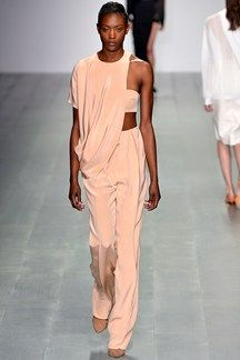 The Brazilian designer showcases his new collection on the catwalk