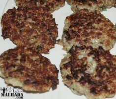 Bolinho de proteína de soja - Receita Protéica Vegetariana ~ Mulher Malhada