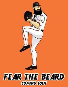 Fear the beard. I wish....