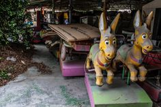 Abandoned Luna Park in Cyprus, Limassol by Luana Liassi