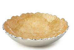 Rivington Bowl Medium, Gold