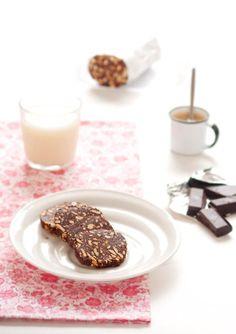 salame de chocolate - Sabores de Canela