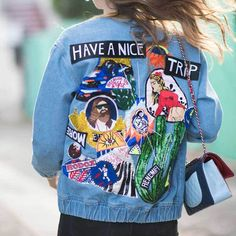 1967 Trippy Denim Jacket