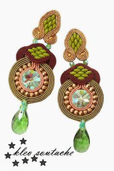 Sutasz Kleo /Soutache jewellery: LIBEZIDA GREEN