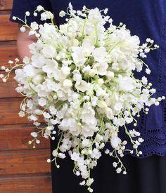 Buchet de mireasa cu lacramioare; Lily of the Valley wedding bouquet