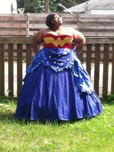 7694f29531 These Plus-Sized Cosplay Dresses Are An Inspiration Plus Size Superhero  Costumes