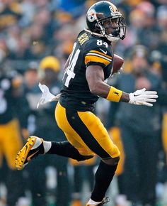 Antonio Brown, WR, Pittsburg Steelers #NFL