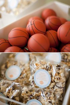 Slam Dunk Basketball First Birthday Party // Hostess with the Mostess®