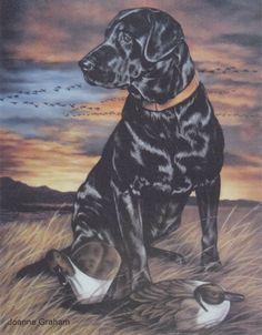 """Evening Flight"" Hunting Drawings, Dog Prints, Beautiful Scenery, Tat, Life Is Good, Stencils, Dogs, Artwork, Painting"