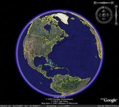 Real World Math - based on Google Earth.