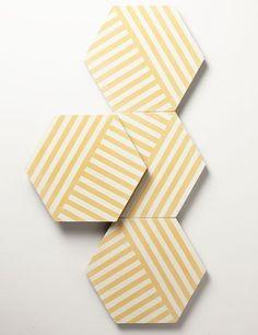 Filmore Clark's cement LeWitt tiles