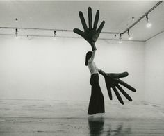 Sylvia Palacios Whitman's Passing Through (photo by Babette Mangolte, Whitney Museum of American Art, 1977)
