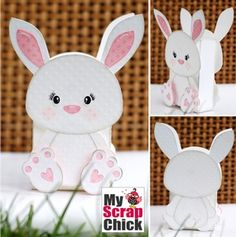 Sweet Bunny Treat Bag: click to enlarge