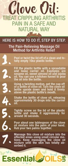 Treat crippling arthritis pain in a safe and natural way. Use the Pain-Relieving Massage Oil method for arthritis relief! Clove Essential Oil, Sandalwood Essential Oil, Essential Oil Uses, Doterra Essential Oils, Arthritis Essential Oil Blend, Doterra Sandalwood, Frankincense Essential Oil Benefits, Essential Oils For Cancer, Young Living Oils