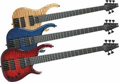photos of modulus basses | Modulus Guitars Quantum 5 Quilt 5-String Bass