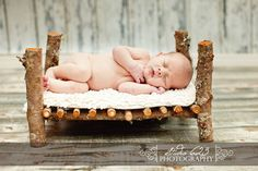Cherry Wood Newborn Photography Bed Prop by Studio623Photography, $75.00