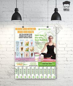 Herbalife Contact Flyer • Print Ready •Custom Design U Print • Tear-Off • Herbalife Advertising • Formula 1 • Herbalife Nutrition (121501) by AJSGraphDesign on Etsy