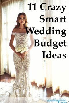 Here are eleven of the real wedding budget ideas from real WeddingMix brides who survived the wedding planning process without breaking the bank!