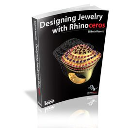 """""""Designing Jewelry with Rhinoceros"""" is a book to meet the needs in the 3D jewel market that use Rhinoceros software. Is a complete and instructive material regarding 3D modeling. The book has 356 pages distributed in 17 chapters covering the whole modeling process, from the starting point of the software to the final production of the jewel. Buy here http://www.editoraleon.com/design-jewelry-3d/designing-jewelry-with-rhinoceros.html #jewelrydesigner #designjewellery"""