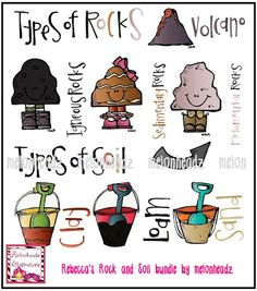 1000 images about science rocks and soils on pinterest for Different types of soil for kids