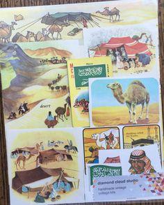 Let's Travel to the Arabian Desert Vintage by diamondcloudstudio