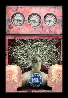 Greg Hanson art box assemblage