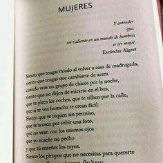 Escandar Algeet -Mujeres #feminismo #piropos #abuso #niunamas