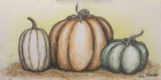 Charcoal Pumpkins by UniqueNotFreak on Etsy