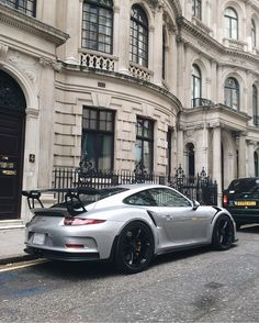 Porsche 991 GT3 RS painted in GT Silver Metallic Photo taken by: @alexpenfold on Instagram