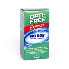 Lens Care Products: Opti-Free Express - multi-purpose contact lenses solution