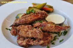 Organic Fried Chicken Wings at Nana (Bridgeport, Chicago)