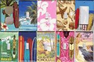 Beach and Tropical Light Switch Covers, Wallplates