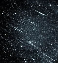 There are always meteors burning up in the Earth's atmosphere, and during certain times of the year there are major meteor showers. You want to...