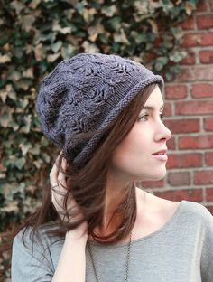 Ravelry: Plum Tree Slouch pattern by Alana Dakos